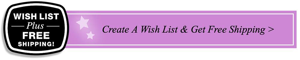 Wish List for Michelle Leonardo Design Banner