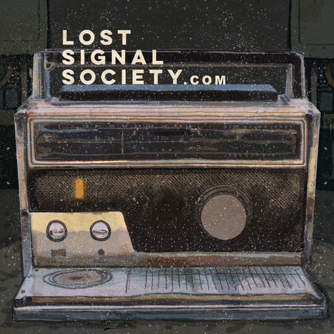 short wave radio alone with logo