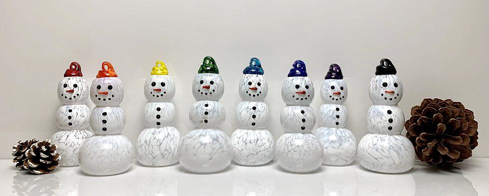 Standing Tabletop Snowmen