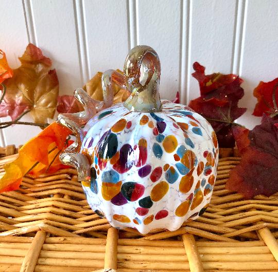 Fall Speckle Pumpkin