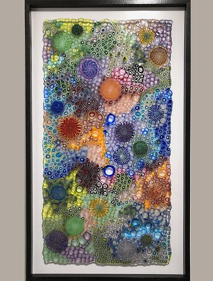 """Celestial"" - 25"" x 45"" Wall Panel"