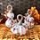 Thumbnail: Baby White and Gold Pumpkin