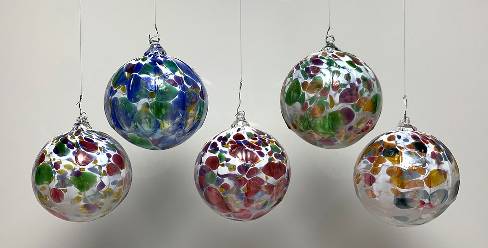 Mixed Color Orbs with White