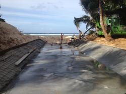main sea outfall