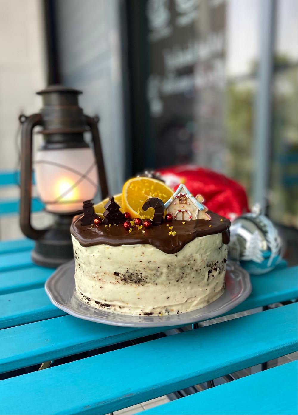 עוגת שוקולד תפוזים מקמח קינואה טעימה מטירוףףףף