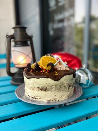 עוגת שוקולד תפוזים מקמח קינואה טעימה בטירוףףףףףף
