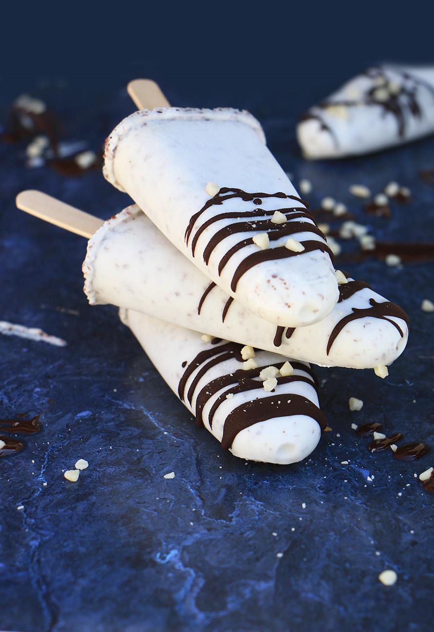 ארטיק שוקולד לבן וקוקוס