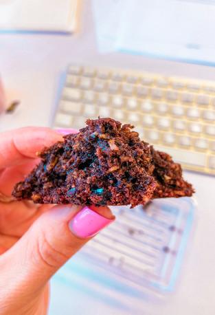 עוגיות שיבולת שועל שוקולד