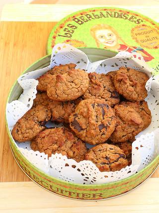 עוגיות חומוס ושוקולד מרי