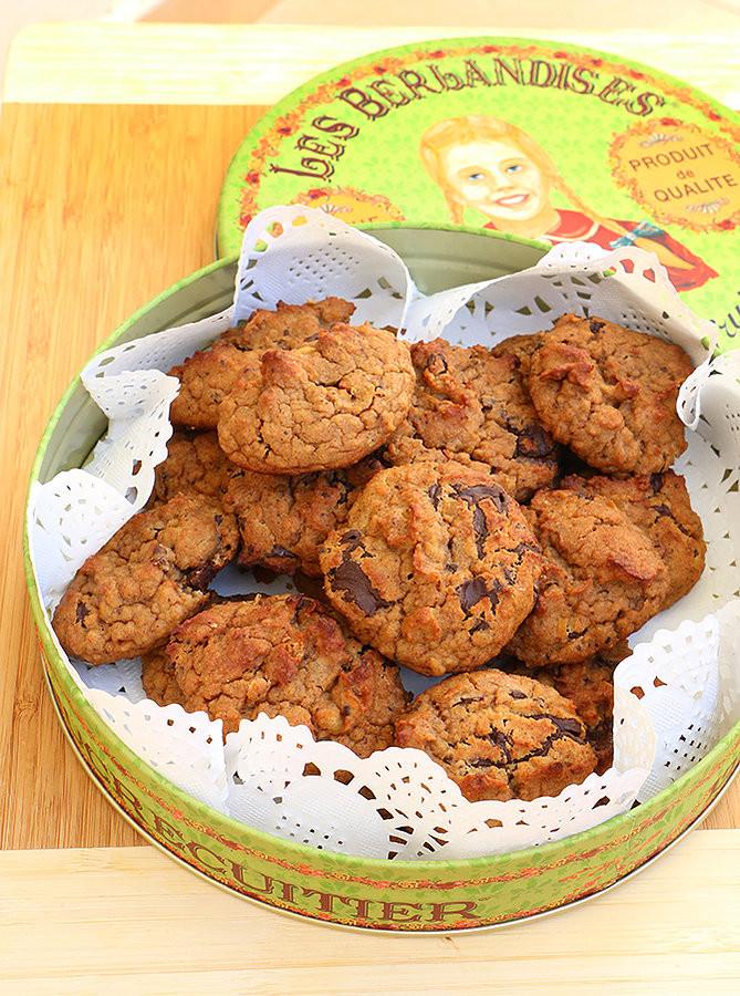 עוגיות חומוס ושוקולד