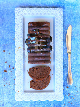 עוגת שוקולד ומולסה, מקמח בוטנים