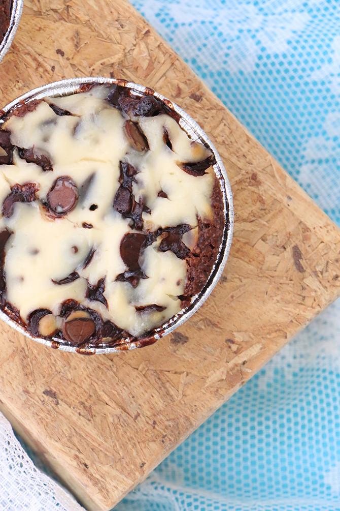 עוגת גבינה ושוקולד בריאה לשבועות