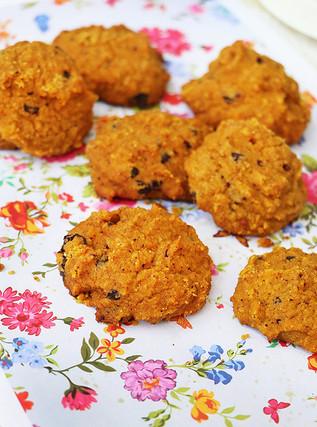 עוגיות דלעת ושוקולד מריר ללא גלוטן
