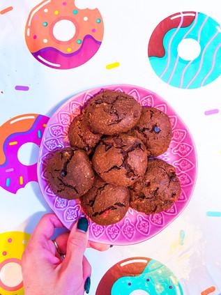 עוגיות קוטג׳ שוקולד של סבתא