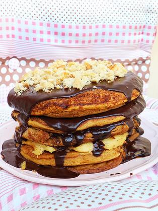 עוגת פנקייק דלעת וקינמון