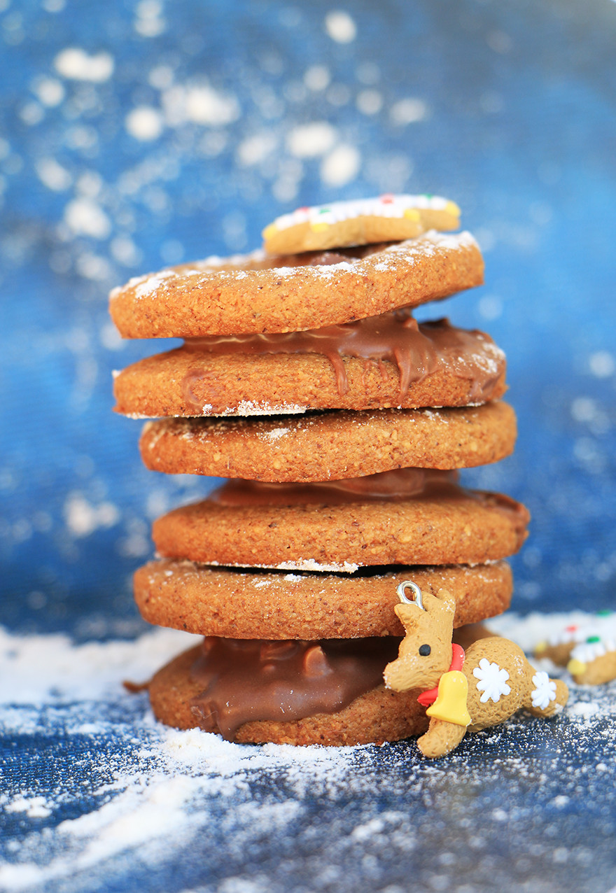 עוגיות ג׳ינג׳ר ודבש בריאות