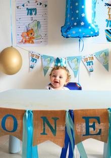 הפקת יום הולדת גיל שנה בקונספט ״פעם ראשונה שלי״