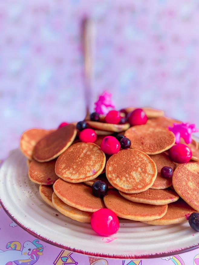 דגני בוקר מיני פנקייק יוגורט עם קמח כוסמין