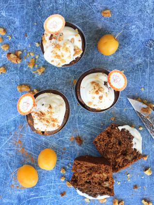 עוגת מאפינס תמרים בריאים מקמח קינואה