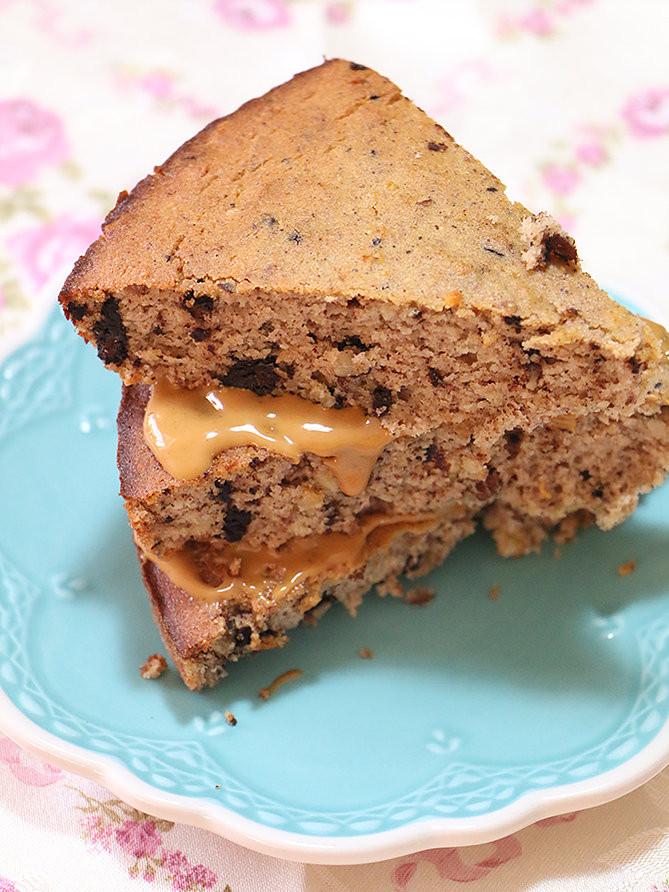 עוגת חמאת בוטנים ללא גלוטן