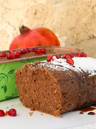 עוגת מאפין רימונים לראש השנה