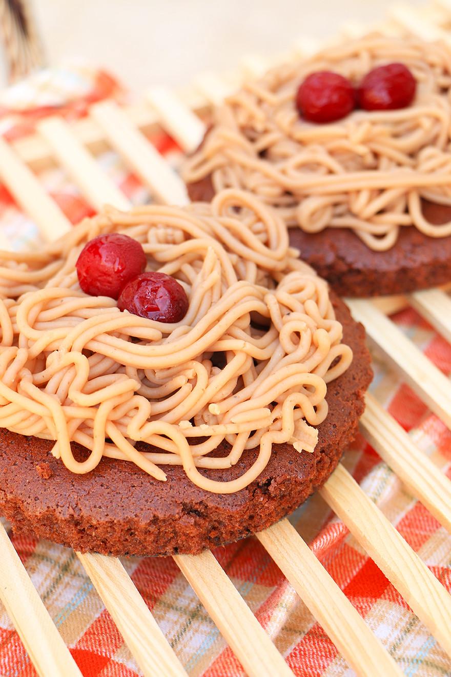 עוגת ערמונים בריאה