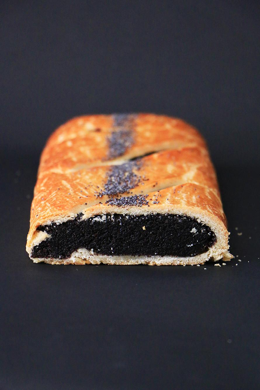 עוגת פרג שמרים מקמח כוסמין