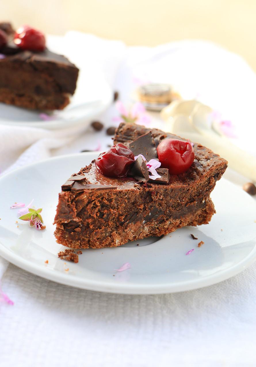 עוגת גבינה שוקולד וקפה לשבועות