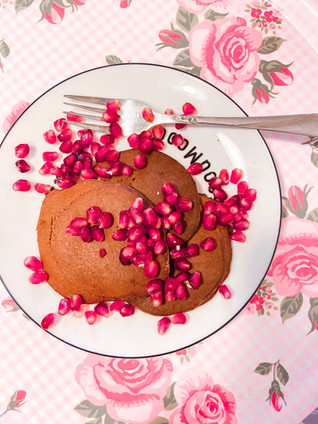 פנקייק שוקולד שקדים עם המון חלבון (ללא גלוטן)