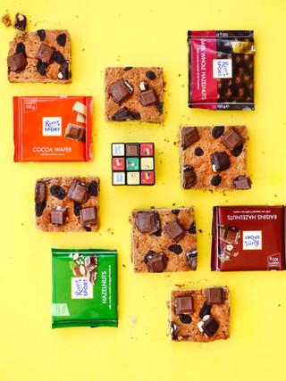 חיתוכיות שבולת שועל ושוקולד