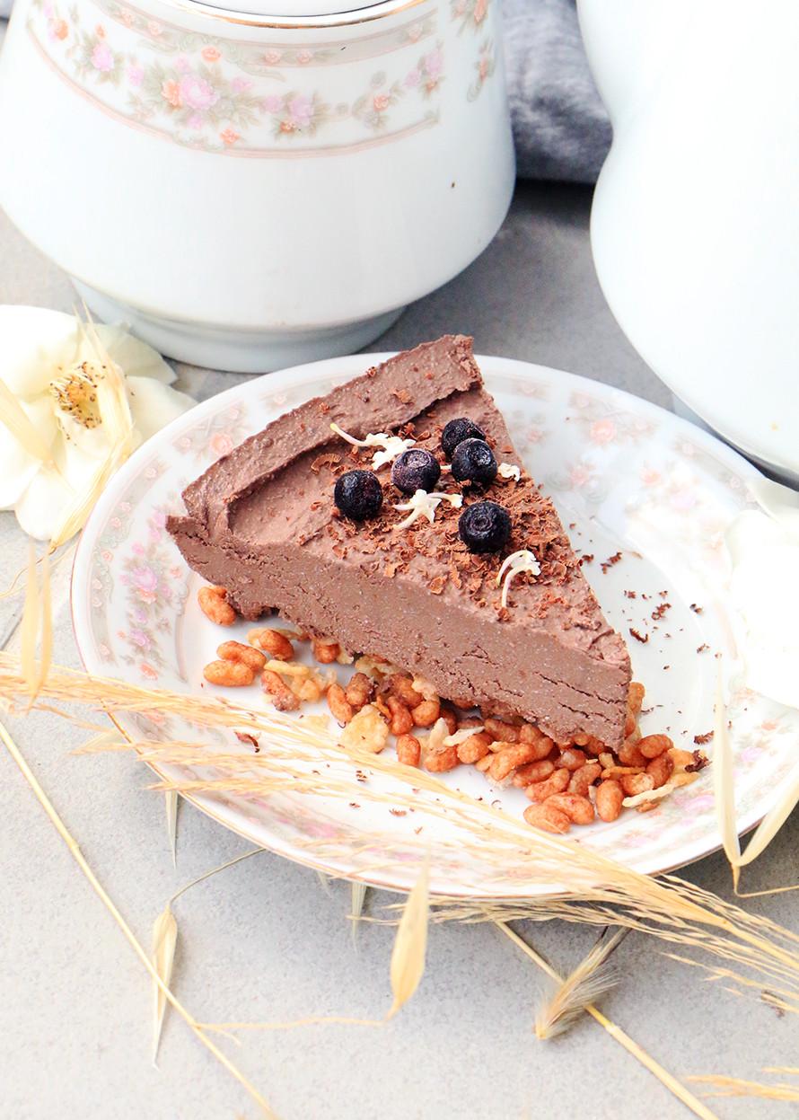 עוגת שוקולד טבעונית מטופו