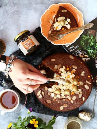עוגת יאקון ותבלינים לחורף