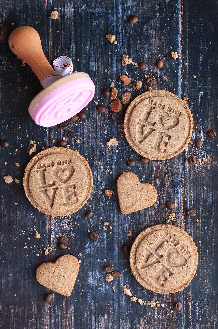 עוגיות כוסמין ליום האהבה