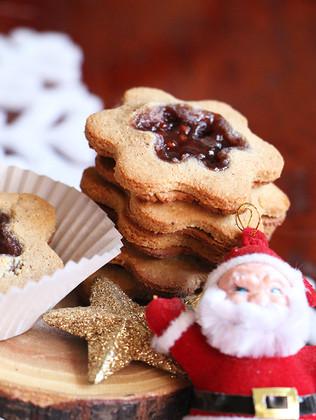 עוגיות ריבה מקמח קוקוס וקשיו (ללא גלוטן   טבעוני)