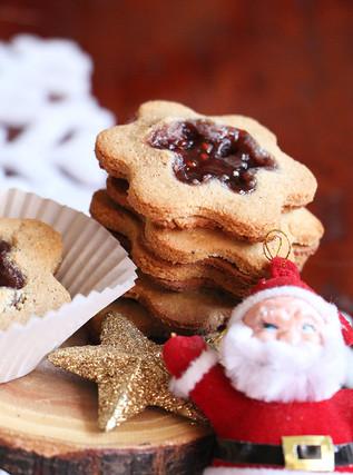 עוגיות ריבה מקמח קוקוס וקשיו (ללא גלוטן | טבעוני)