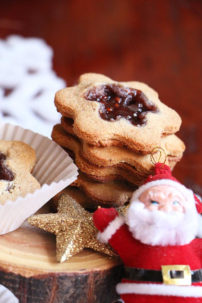 עוגיות ריבה ללא גלוטן