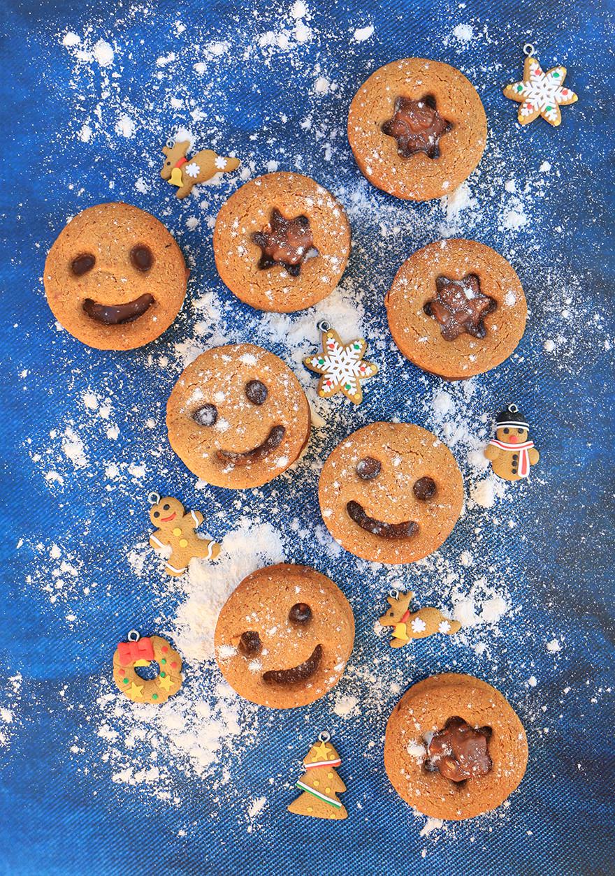 עוגיות גינגר ודבש בריאות