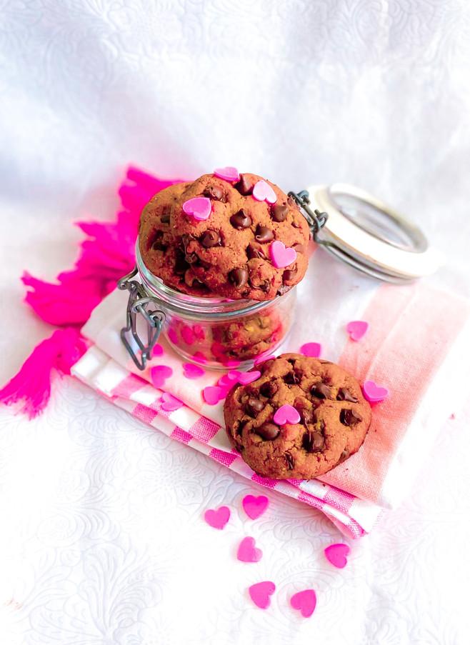 עוגיות שוקולד צ׳יפס נימוחות בריאות וטעימות ב-10 דקות הכנה + גרסה ללא גלוטן