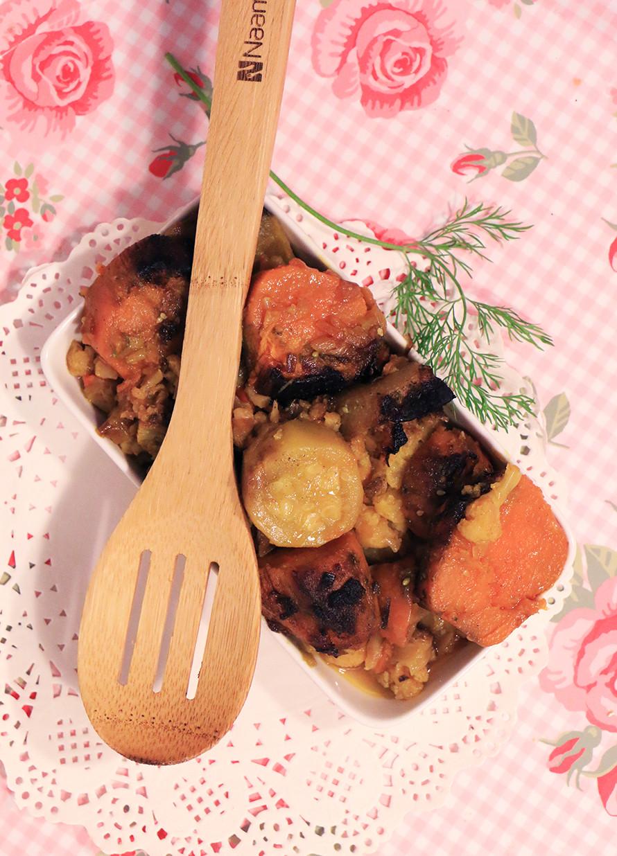 ירקות אפויים בתנור אנטיפסטי