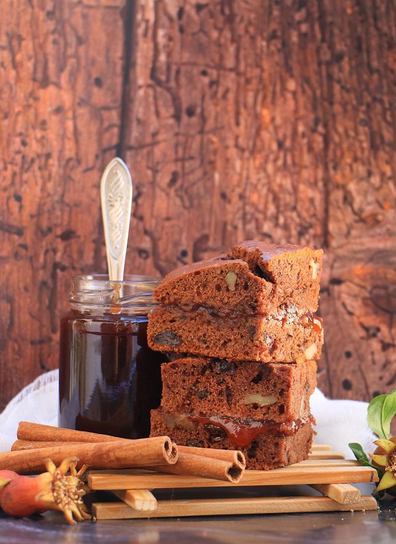 עוגת דבש טבעונית לראש השנה