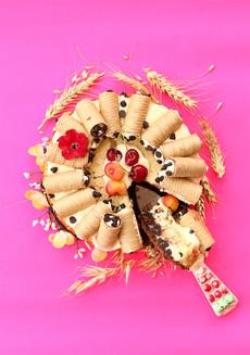 עוגת ריקוטה קנולי איטלקית