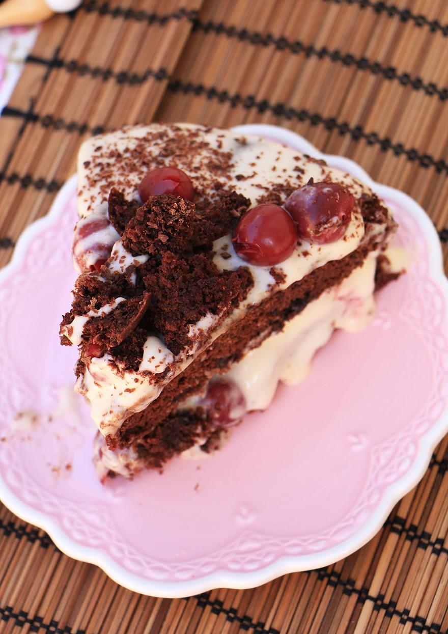 עוגת היער השחור בריאה