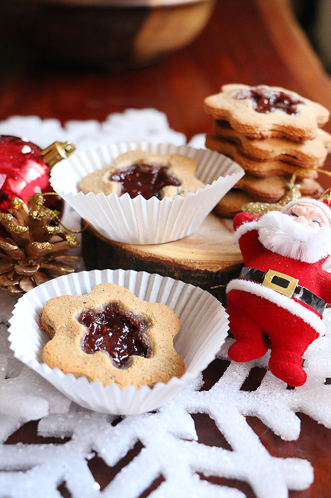 עוגיות קוקוס וריבה