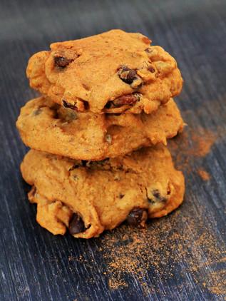 עוגיות בטטה עם שוקולד צ׳יפס