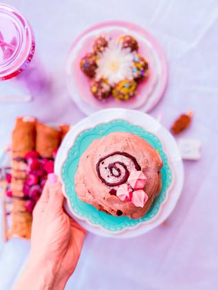 קוקילידה קוואקר עם גלידה מסקרפונה שוקולד