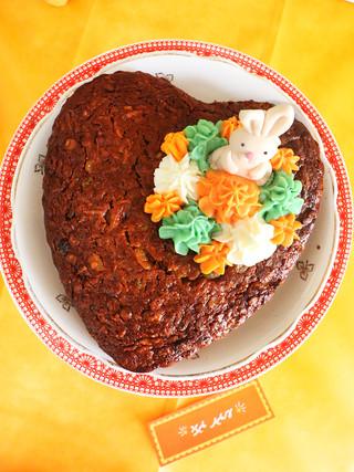 עוגת גזר מקמח כוסמין מלא