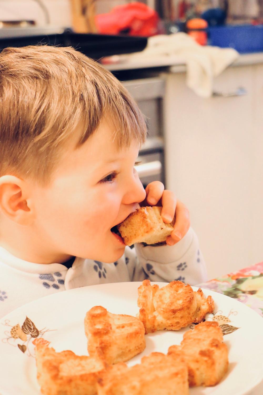 מאפינס וניל בריא לילדים