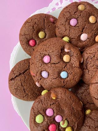 עוגיות שוקולד כוסמין ועדשים שגם המבוגרים לא יפסיקו לזלול
