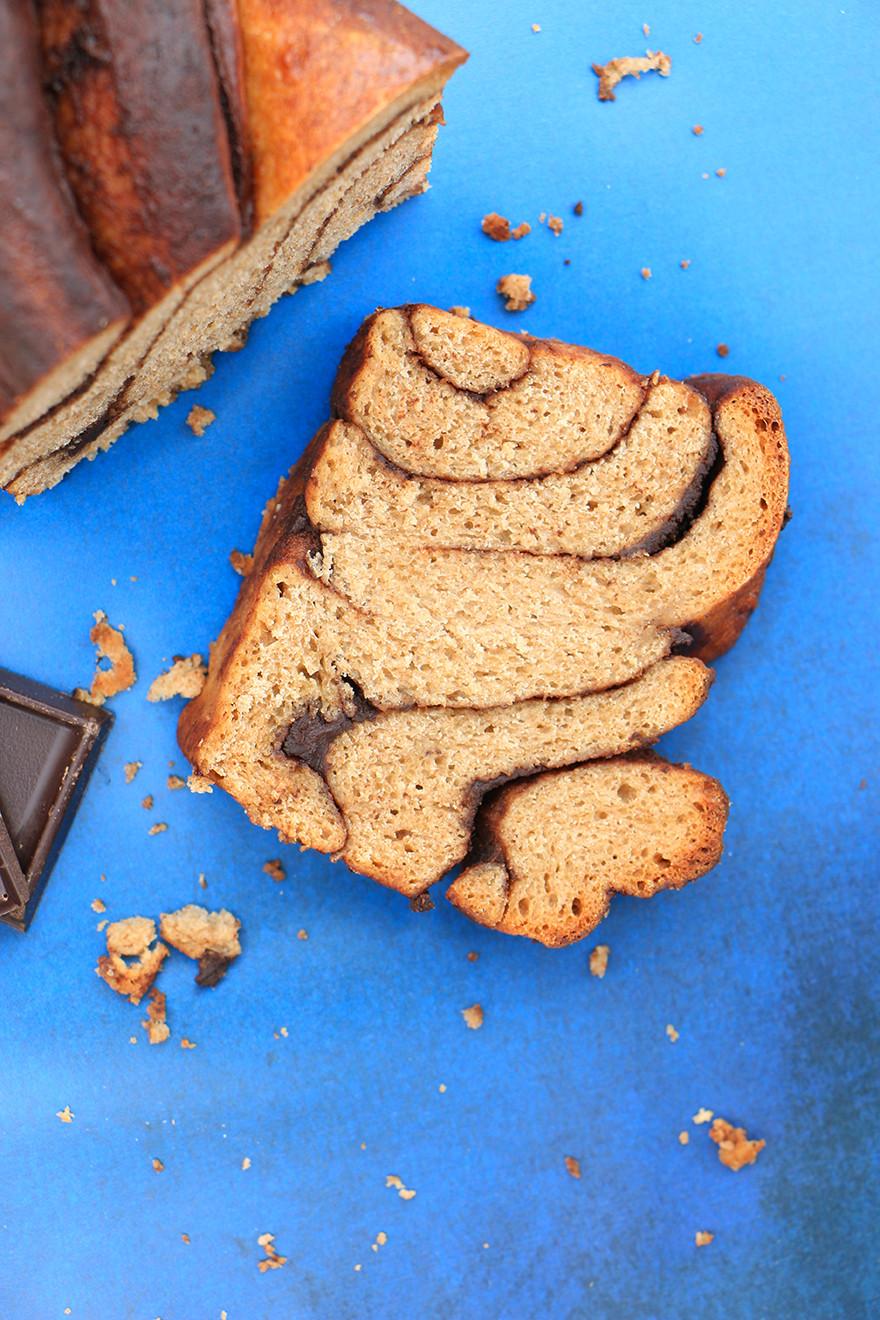 עוגת שמרים שוקולד מקמח כוסמין