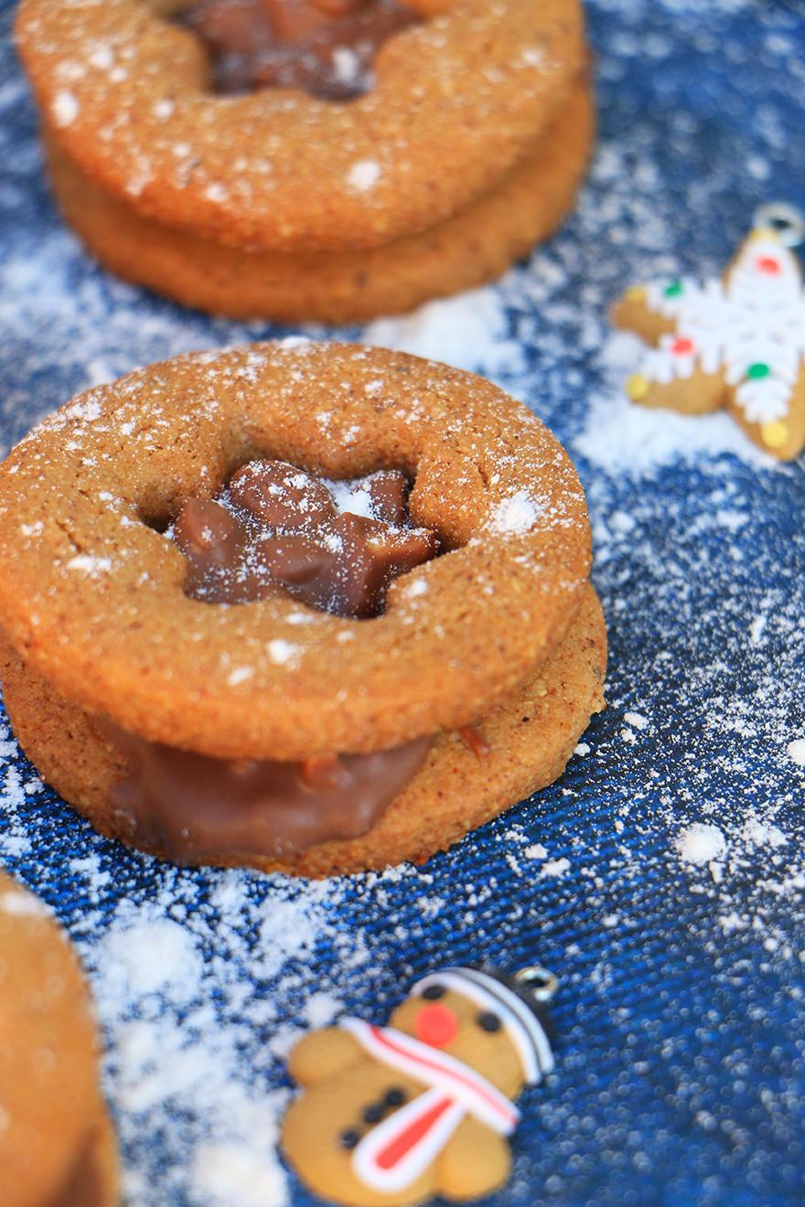 עוגיות ג׳ינג׳ר ללא גלוטן